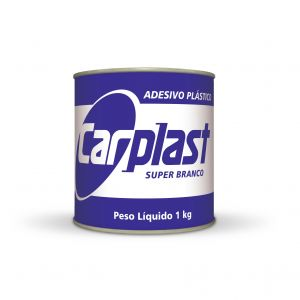 Adesivo Plástico Branco Carplast