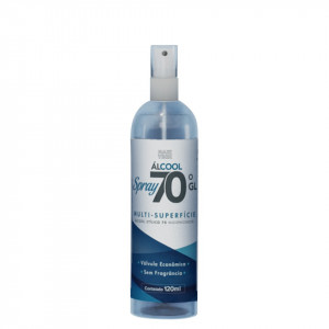 Álcool SPRAY 70 - 120ml